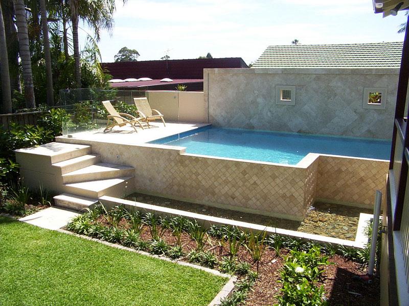 concrete outground pools blue haven. Black Bedroom Furniture Sets. Home Design Ideas
