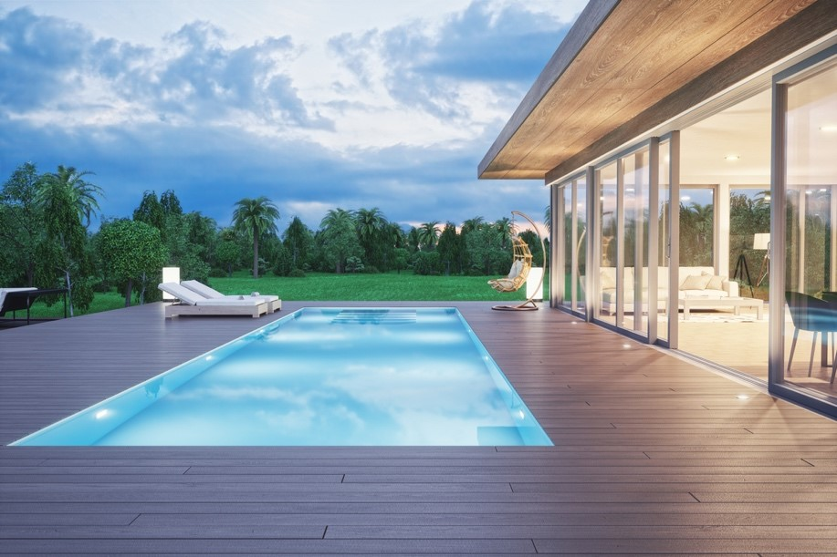 Timber vs Stone Pool Surrounds