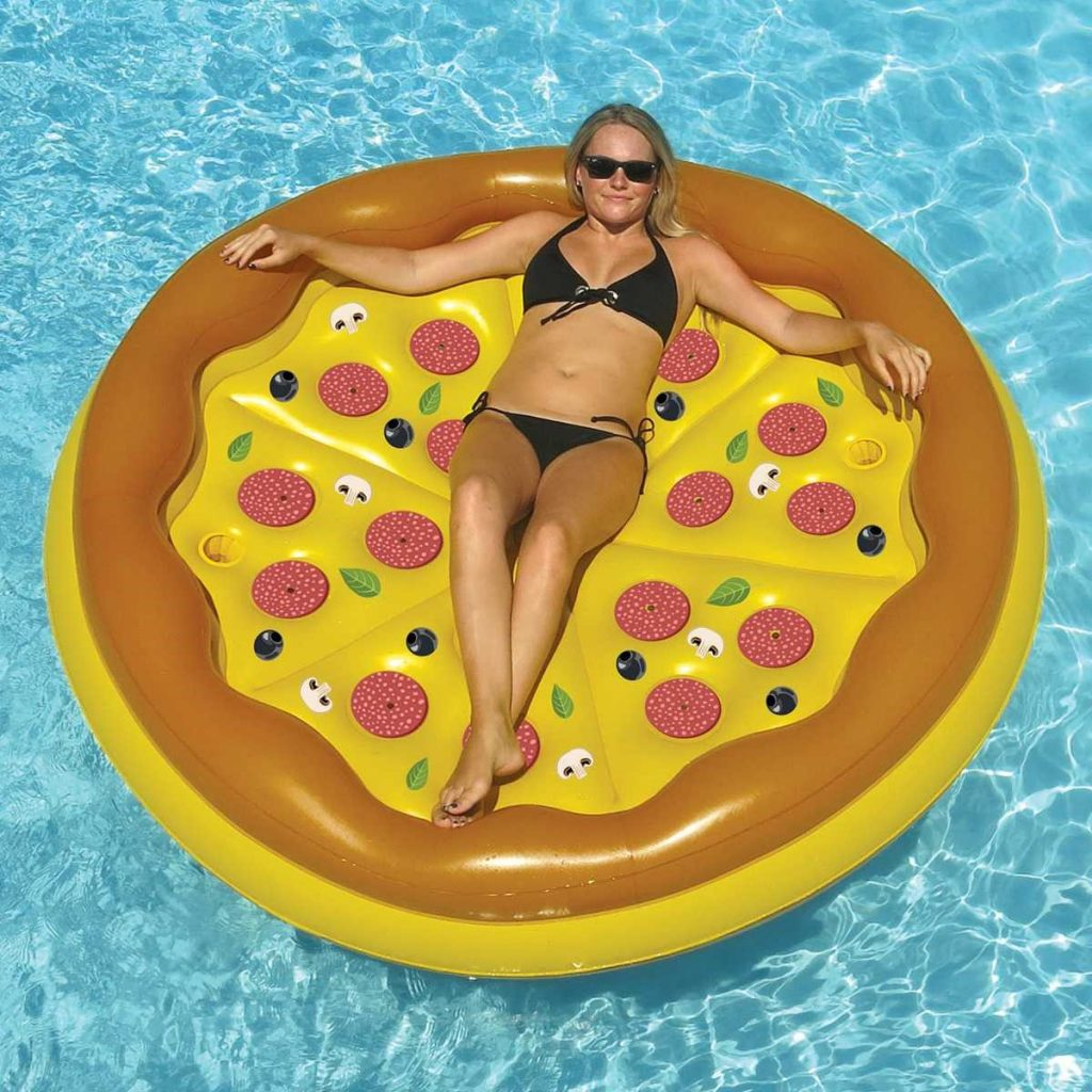 Swimline Personal Pizza Island