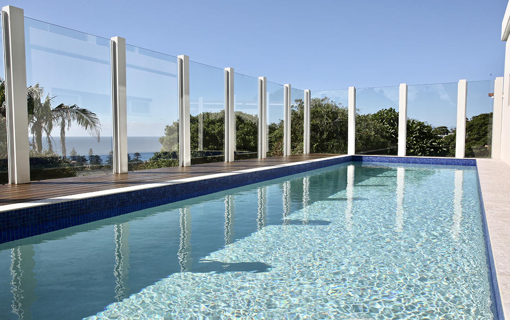 Kiama out of ground mineral swimming pool