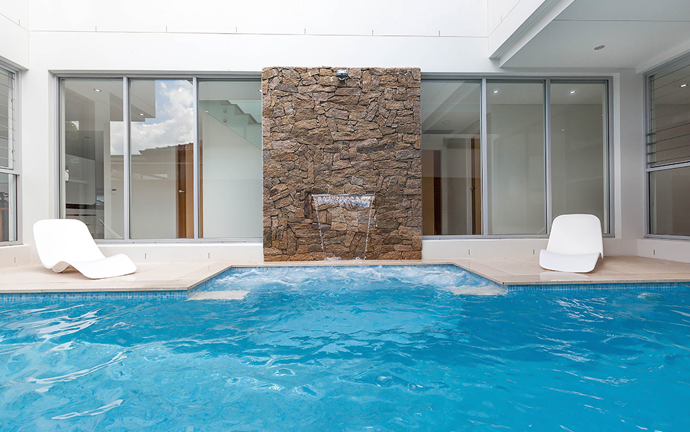 Lap Pool in South Hurstville built by Blue Haven Pools