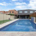 Inground swimming pool rectangular shape