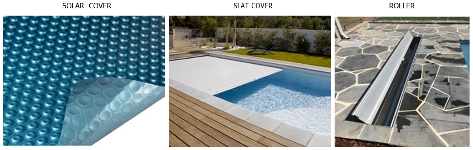 Pool covers and pool cover roll
