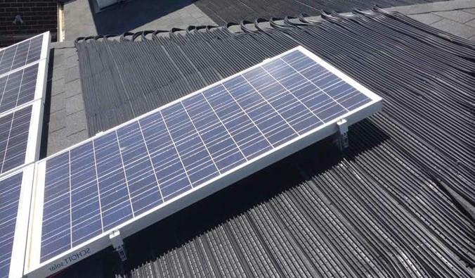 sunbather solar panel
